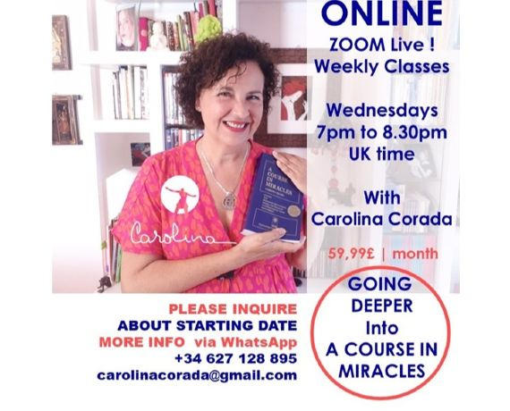 GOING DEEPER into A Course in Miracles: Weekly Wed. Classes